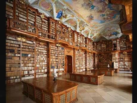 Bibliothèque de l'Abbaye de Saint-Florian, Autriche