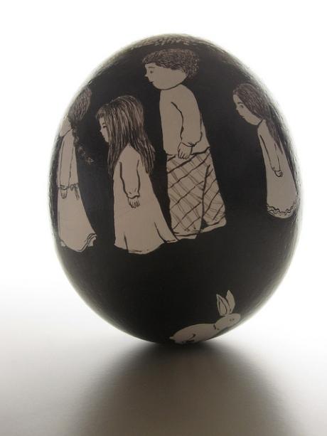 ovo de avestruz