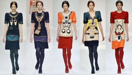 Inspirada na joalheria, estampas e jóias maximizadas