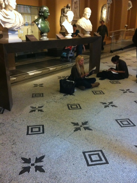 e eu amo ver os estudantes fazendo desses espaços o espaço deles