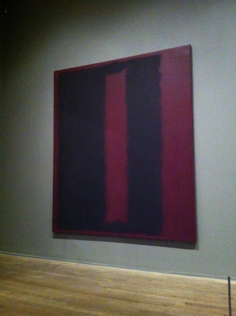 Rothko, meu coração bate forte por você.